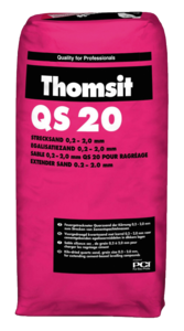 Strecksand 0,2 - 2,0mm Thomsit QS 20