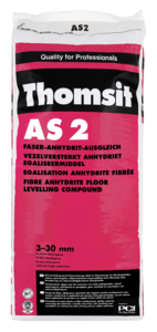 Faser-Anhydrit-Ausgleich Thomsit AS 2